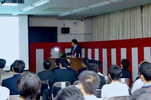来賓 駒宮先生による特別講演
