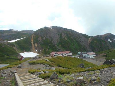 乗鞍岳の風景